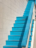 Blue steps Royalty Free Stock Image