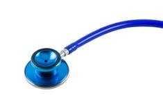 blue stethoscope 免版税库存照片