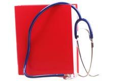 Blue stethoscope isolated on white Stock Photos