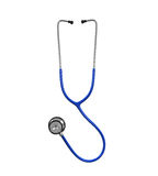 Blue stethoscope  Royalty Free Stock Photos