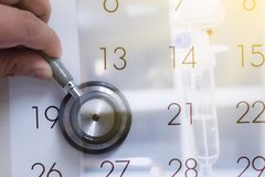 Doctors appointment royalty free stock image