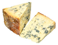 Blue Stilton Cheese Royalty Free Stock Images
