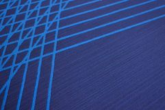 Blue stripe background Stock Image