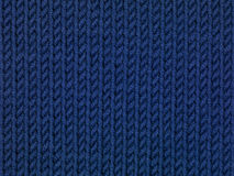 Blue stitch background, close up Stock Images