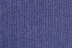 Blue stockinet background Stock Images