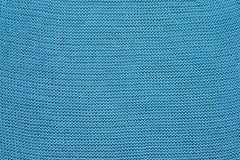Blue stockinet background Stock Photos