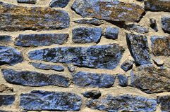 Blue stone Royalty Free Stock Photography