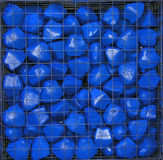 Blue stone Stock Photos