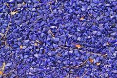 Blue stone background. Stock Photos