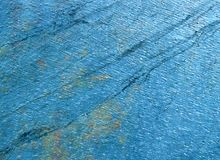 Beautiful diagonal structure of blue stone Royalty Free Stock Image