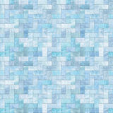 Blue Stone Floor Seamless Pattern Stock Photo