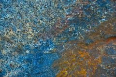 Blue stone texture or background. royalty free stock images