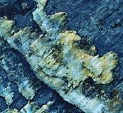 Blue stone texture Stock Photos