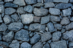 Blue stone wall Royalty Free Stock Photography