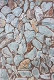 Blue stone wall texture Stock Images