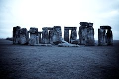 Blue Stonehenge Stock Images