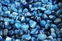 Blue stones Stock Photos