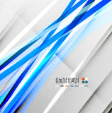 Blue straight lines abstract background Stock Photos