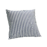 Blue straps pillow Royalty Free Stock Photo