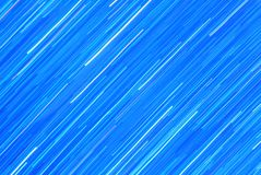 Blue Streaks of Light - Abstract Art of Color and Background Royalty Free Stock Photos