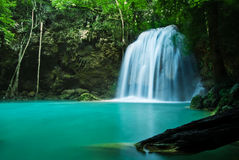Free Blue Stream Waterfall Royalty Free Stock Image - 27750196