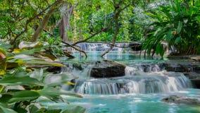 Blue stream waterfall Stock Image