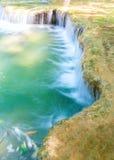 Blue stream waterfall Royalty Free Stock Image