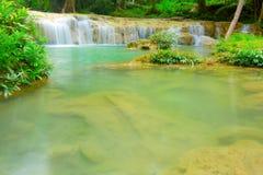 Blue stream waterfall Royalty Free Stock Photos