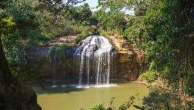 Blue stream waterfall in Vietnam Stock Image
