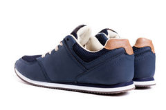 Blue Street Shoes Stock Images