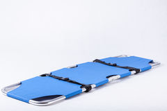 Blue stretcher Royalty Free Stock Photo
