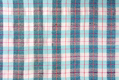 Blue stripe fabric texture Royalty Free Stock Photography