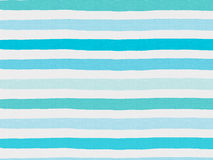 Blue stripe pattern on linen fabric. Blue and white tablecloth stripe pattern background for decorate your artwork stock illustration