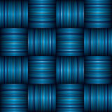 Blue stripe weave Stock Images