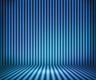 Blue Striped Background Show Room Royalty Free Stock Photos