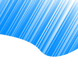 Blue striped design Royalty Free Stock Images