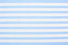 Blue striped fabric background Stock Photography