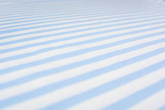 Blue striped fabric background Royalty Free Stock Photography