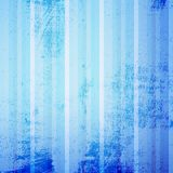 Blue Striped Grunge Stock Images