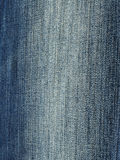 Blue striped jean. Closeup of blue striped jean background Royalty Free Stock Photo