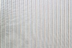 Blue striped material Stock Image