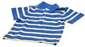 Blue Striped Polo Shirt Royalty Free Stock Photo