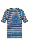 Blue striped t-shirt Royalty Free Stock Photography