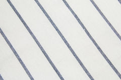 Blue striped Tablecloth Stock Photos
