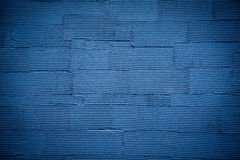 Blue striped wall texture background Royalty Free Stock Photography