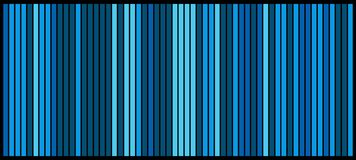 Blue stripes bars design background beautiful wallpaper.  Stock Photo