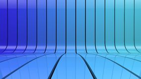 Blue stripes gradient background Stock Photos