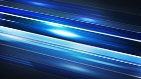 Blue stripes motion blur abstract background Royalty Free Stock Photography