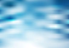 Blue stripes vector backdrop. Gradient mesh Stock Image