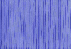 Blue stripes on watercolored background Royalty Free Stock Photos